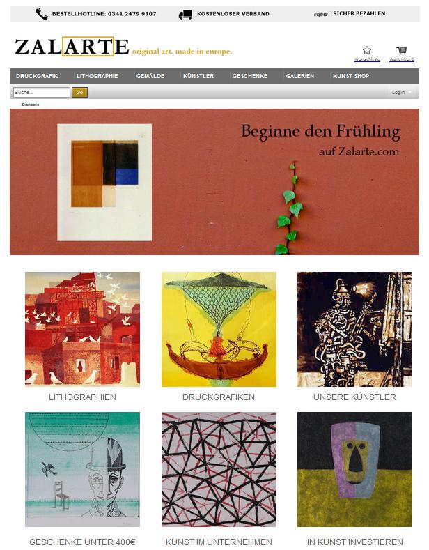 Zalarte Homepage